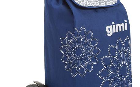 Tris Floral modrá nákupní taška