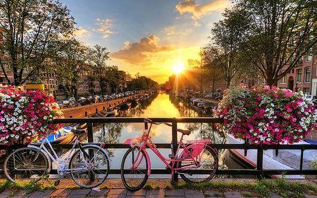 5denní poznávací zájezd pro 1 osobu do voňavého Amsterdamu a okolí