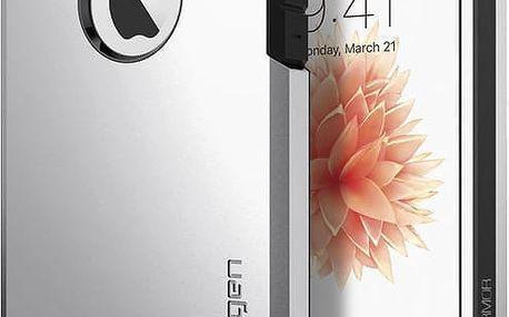 Spigen Tough Armor kryt pro iPhone SE/5s/5, stříbrná - 041CS20251