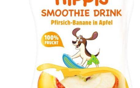 6x HIPP HiPPiS BIO Smoothie Jablko-Banán-Broskev 120 ml – ovocný příkrm