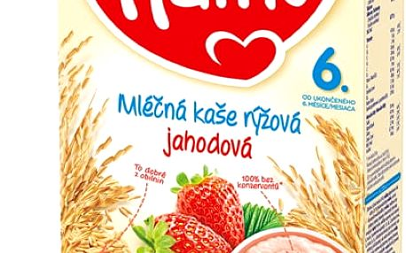 2x HAMI Rýžová s jahodami (225 g) - mléčná kaše