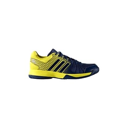 Pánské sálové boty adidas Ligra 4   BA9667   Modrá, Žlutá   43