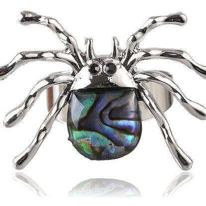 Fashion Icon Prsten pavouk s Paua perletí