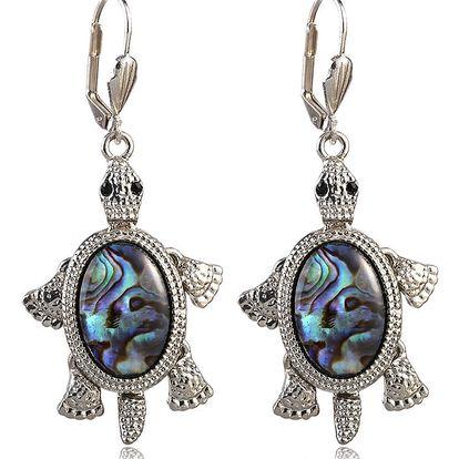 Fashion Icon Náušnice želvičky s Paua perletí