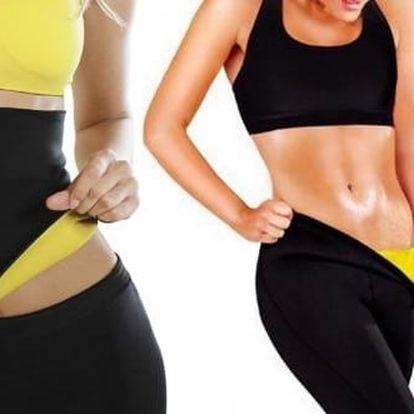Revoluční Fitness hubnoucí trička, legíny a pás zneoprenu pro 4x rychlejší hubnutí sformujícím účinkem. Legíny jsou vyrobeny zneoprénové tkaniny Neotex, kterázvyšuje teplotu tělesného jádra a stimuluje intenzivní pocenípři cvičení, chůzi, běhání, pro