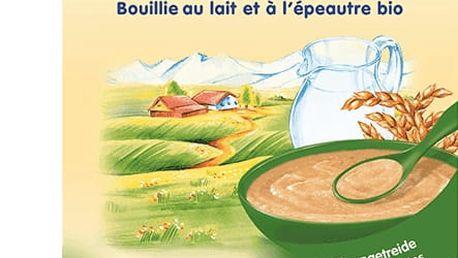 3x HOLLE Bio Špaldová mléčná kaše, 250g