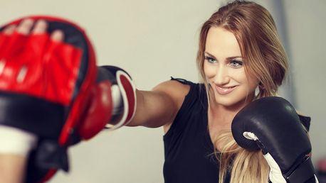 Dostaňte se do formy: lekce kickbox aerobicu