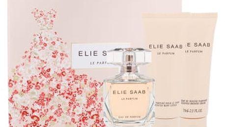Elie Saab Le Parfum dárková kazeta pro ženy parfémovaná voda 90 ml + tělové mléko 75 ml + sprchový krém 75 ml