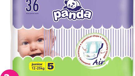 2x BELLA PANDA Junior 36ks (12-25 kg) - jednorázové pleny