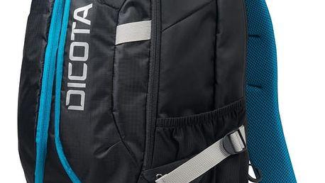 """DICOTA Backpack Active 15,6"""", černá/modrá - D31047"""