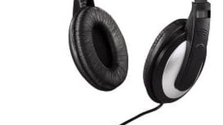 Sluchátka Thomson HK-5619 k TV černá/stříbrná