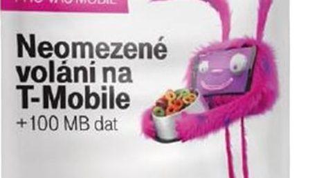 T-mobile SIM karta TWIST V síti, kredit 200 Kč - 719100