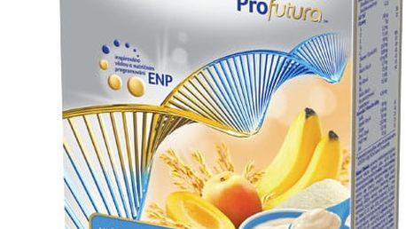 4x NUTRILON Profutura obilno-mléčná krupicová kaše s banánem a meruňkou, 225 g - mléčná kaše