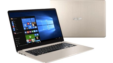 ASUS VivoBook S15 S510UA, zlatá - S510UA-BQ132T