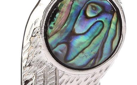 Fashion Icon Přívěsek sova na větvi s Paua perletí