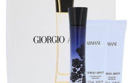 Giorgio Armani Armani Code Women dárková kazeta pro ženy parfémovaná voda 50 ml + sprchový gel 75 ml + tělové mléko 75 ml