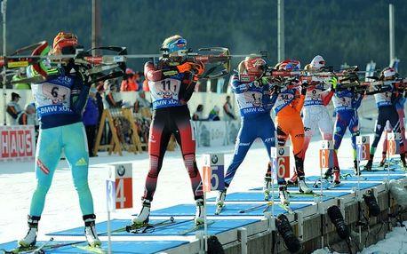 Jednodenní výlet (9.12.): Pojeďte zafandit našim biatlonistům do Rakouska. Vstupenky v ceně!