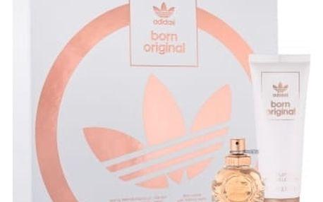 Adidas Born Original dárková kazeta pro ženy parfémovaná voda 30 ml + tělové mléko 75 ml