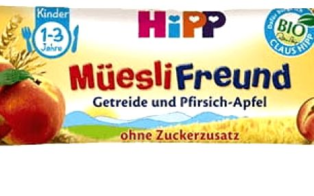 5x HIPP BIO Müsli Broskvovo – jablečná tyčinka 20 g
