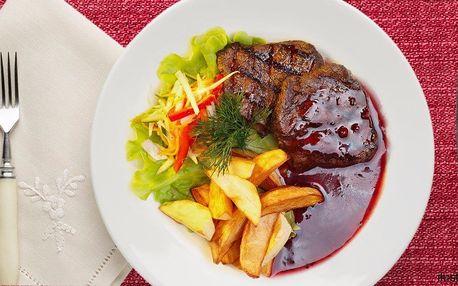 Poklady české kuchyně ve 4 chodech pro 2 osoby