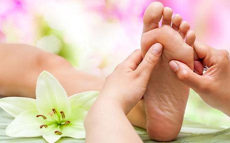 30 nebo 45minutová reflexní masáž chodidel v Salonu AIM v Praze