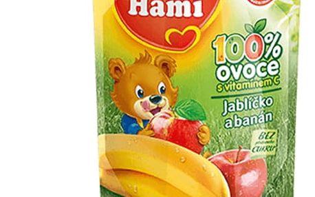6x HAMI ovocná kapsička Jablíčko Banán (90 g)