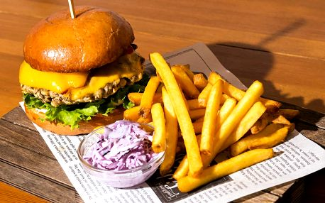 Burgery od jihoafrického kuchaře – i vege verze