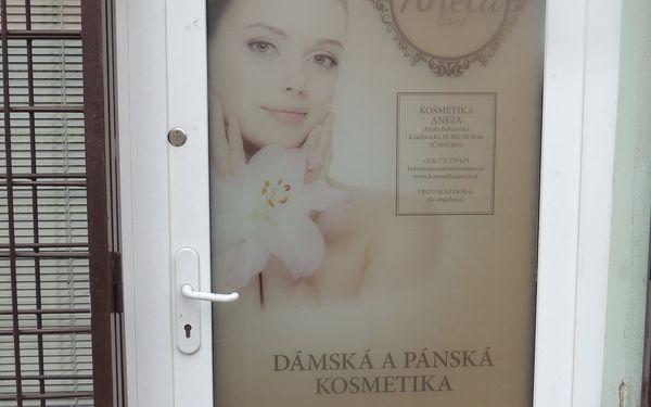 Celkové kosmetické ošetření s masáž