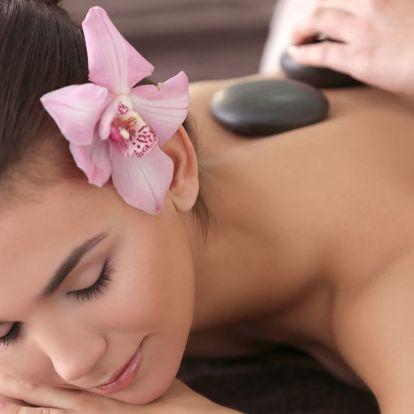 Výběr ze 3 druhů 60minutových masáží