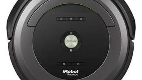 Vysavač robotický iRobot Roomba 681 černý/šedý + Doprava zdarma
