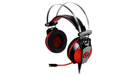 Herní sluchátka Tracer Ravcore Dynamite 7.1, černá