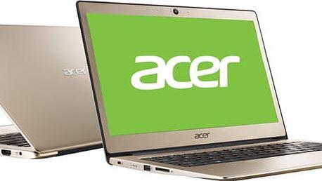 Acer Swift 1 (SF113-31-P3CJ), zlatá - NX.GPMEC.001