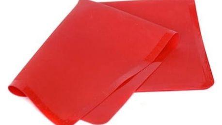 BANQUET Vál silikonový CULINARIA Red 50 x 40 cm, měřítkový reliéf