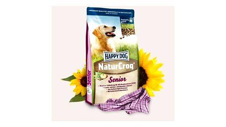 Granule HAPPY DOG Natur-Croq Senior 15 kg + Doprava zdarma