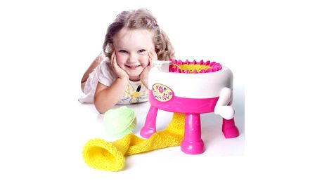 Pletací mlýnek pro děti