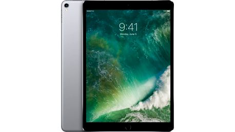 APPLE iPad Pro Wi-Fi + Cellular, 10,5'', 64GB, šedá - MQEY2FD/A + Zdarma GSM T-Mobile SIM s kreditem 200Kč Twist (v ceně 200,-)