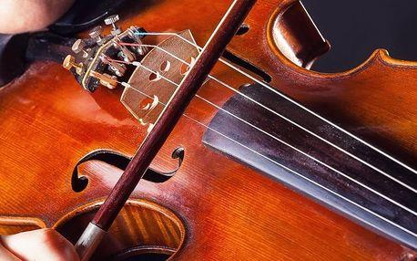 Koncert velkých mistrů v Clam-Gallasově paláci