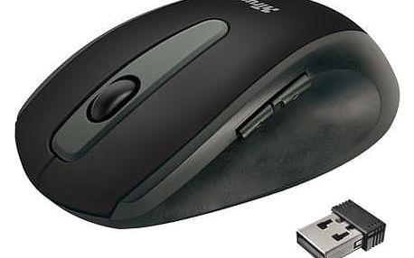 Trust EasyClick Wireless - 16536 + Podložka pod myš Trust Eco-friendly, zelená v ceně 230 Kč