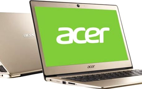Acer Swift 1 (SF113-31-P3CJ), zlatá - NX.GPMEC.001