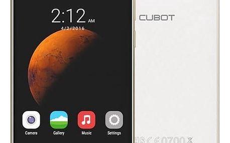 Mobilní telefon CUBOT Dinosaur Dual SIM (PH2480) bílý + DOPRAVA ZDARMA