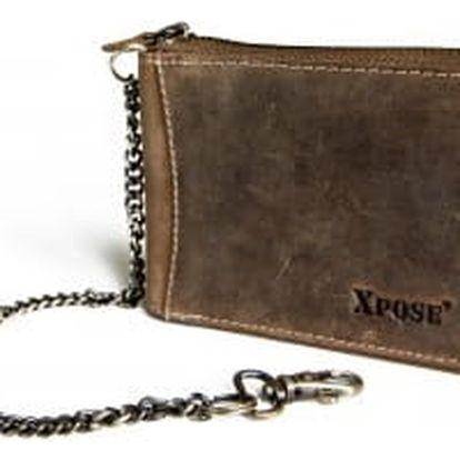XPOSE ® Pánská peněženka XPOSE XH-17 - hnědá