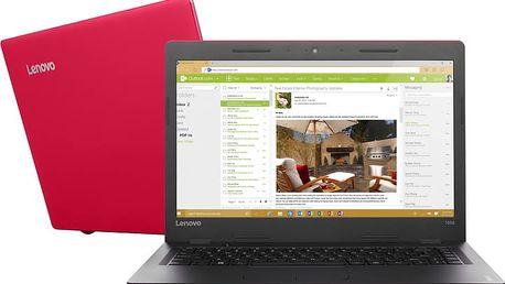 Lenovo IdeaPad 100S-14IBR, červená - 80R900DWCK