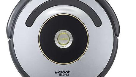 Vysavač robotický iRobot Roomba 616 černý/stříbrný + DOPRAVA ZDARMA