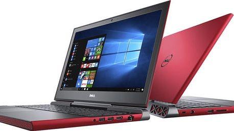 Dell Inspiron 15 Gaming (7567), červená - N-7567-N2-716R