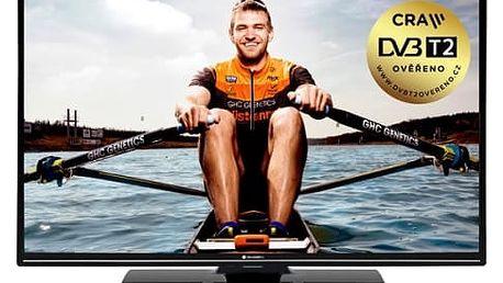 Televize GoGEN TVF 43N525 T černá