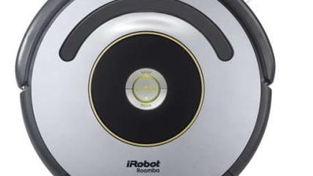 Vysavač robotický iRobot Roomba 616 černý/stříbrný