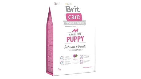 Granule Brit Care Grain-free Puppy Salmon & Potato 3 kg