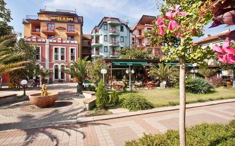 Bulharsko - Pomorie na 8 dní, plná penze, polopenze nebo snídaně s dopravou letecky z Brna