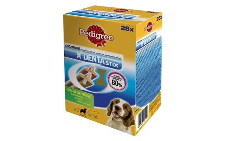 Pochoutka Pedigree DENTA Stix Medium 28 ks