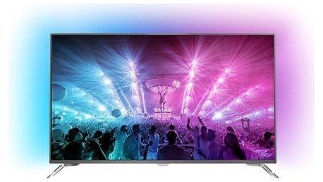 Philips 55PUS7101 - 139cm - 55PUS7101/12 + Druhá 60cm TV Philips 24PFS5231 v ceně 6000 kč